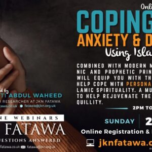 Coping With Anxiety & Depression