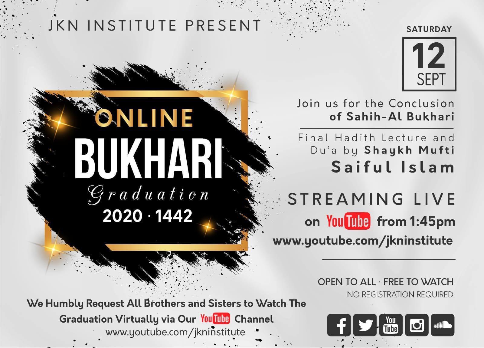 Online Bukhari Graduation