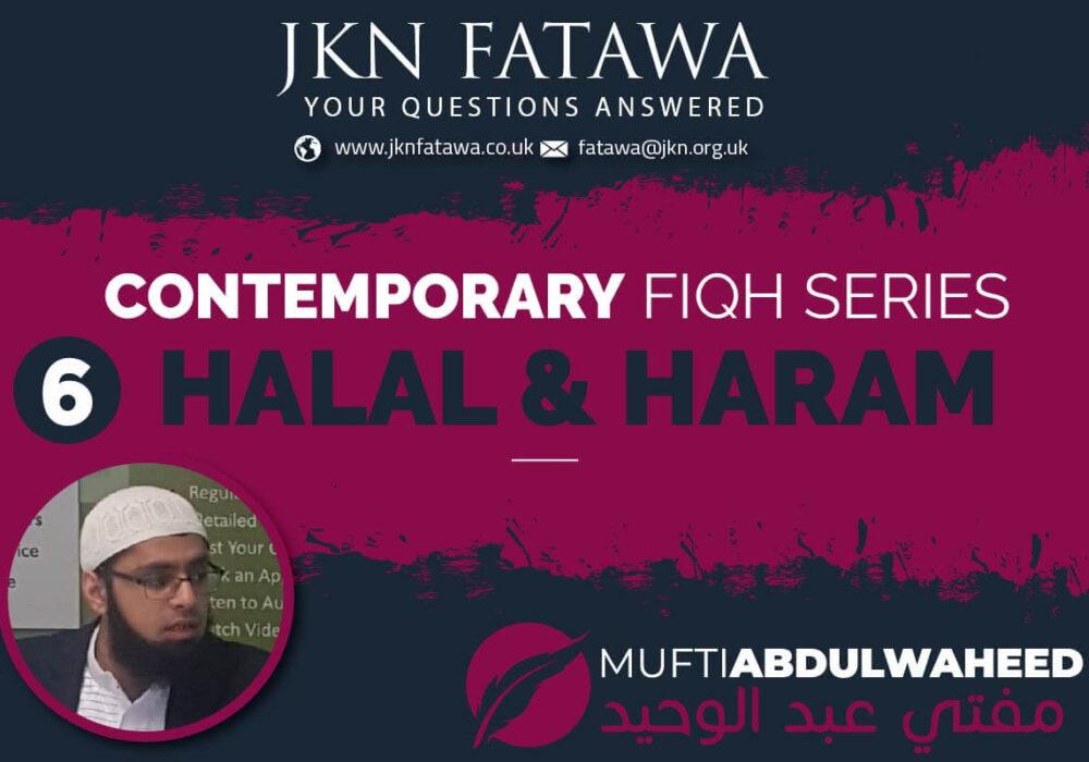 6-Halal and Haram Thumbnail JKN Fatawa